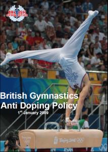 BG Anti Doping Policy