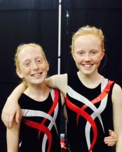 Mia Edbrooke and Gina Atkinson