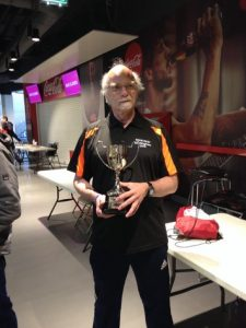 Pat Dodson, Team Manager with Trampoline Trophy