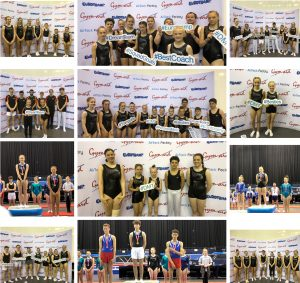 East Region DMT and Trampoline Competitors