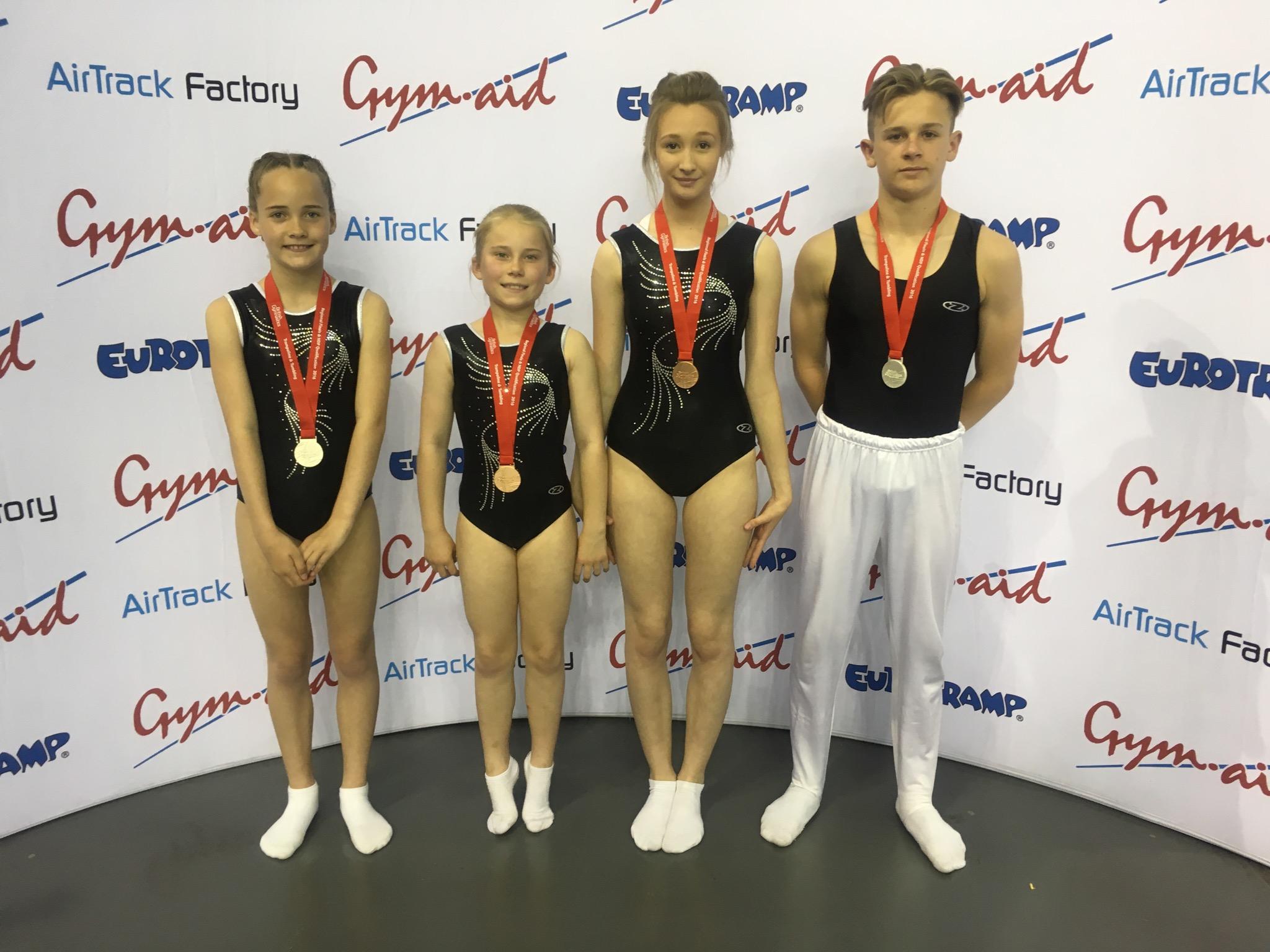 Regional team medallists